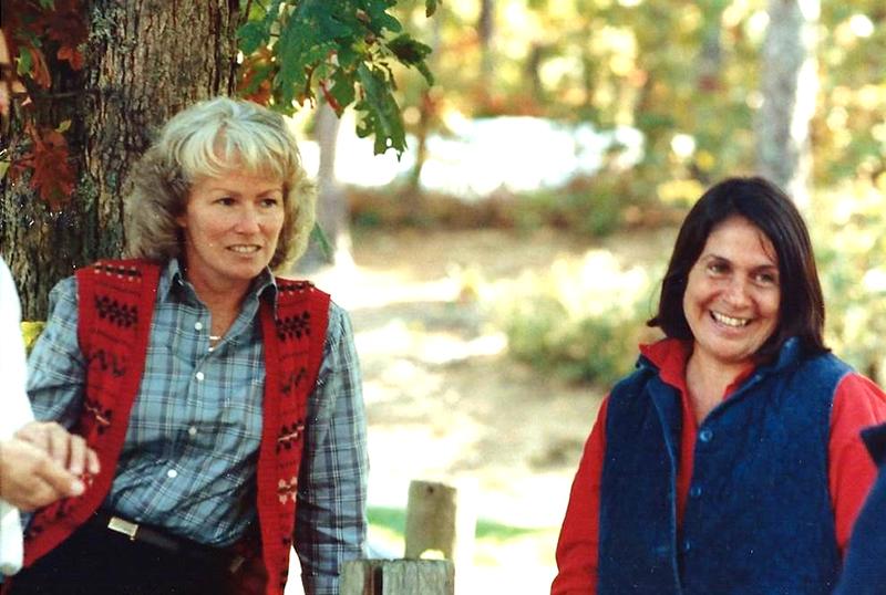 Carolyn and Marcia